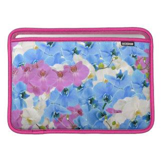 Manga de aire colorida floral de Macbook de los Funda Para Macbook Air