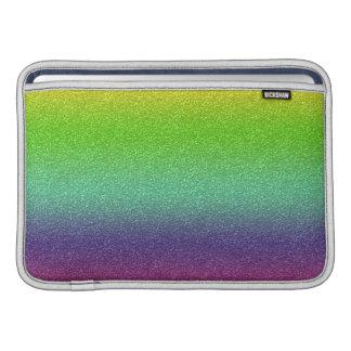 Manga de aire de Macbook de la textura del brillo Funda Para Macbook Air