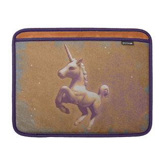 Manga de aire de Macbook del unicornio (lavanda Funda Para MacBook