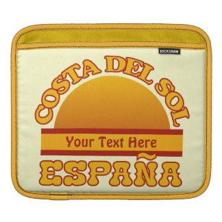 Manga de encargo del iPad de ESPAÑA Costa del Sol Fundas Para iPads