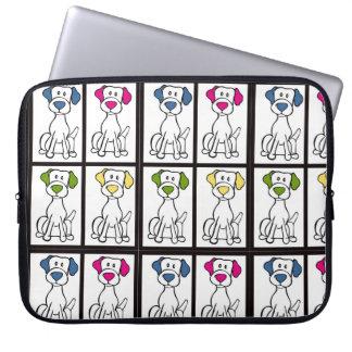 Manga del ordenador portátil de Labrador Funda Para Ordenador