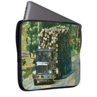 Manga del ordenador portátil del arte del camión d funda ordendadores