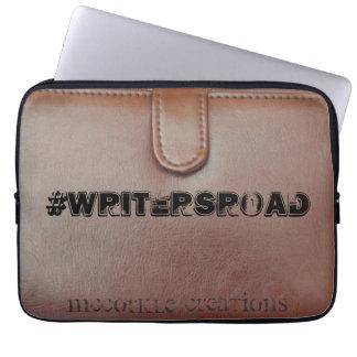 manga del ordenador portátil del #WritersRoad Funda Para Portátil
