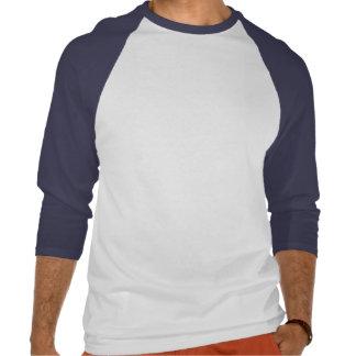 Manga del tres cuartos del lago moose camisetas