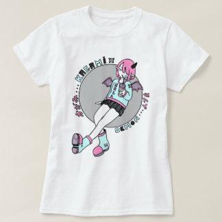 manga demonio girl pink camiseta