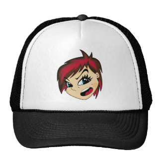 Manga diseñó el casquillo del chica de Emo Gorras De Camionero