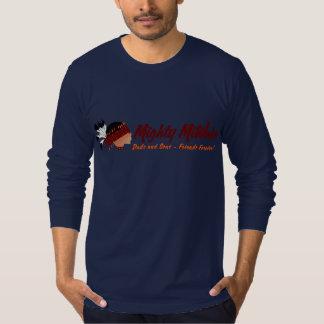 Manga larga adulta camiseta
