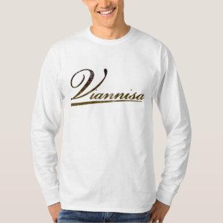 Manga larga blanca de Viannisa Camiseta