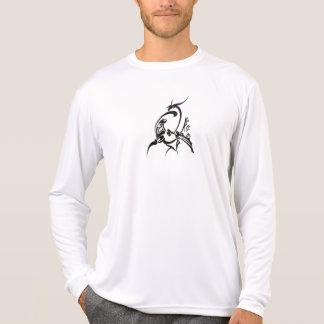 Manga larga camiseta