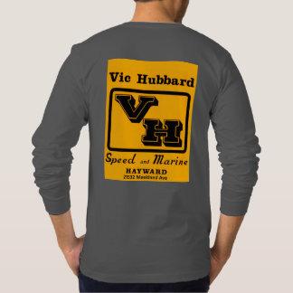 Manga larga de BACC Vic Hubbard gris oscuro Camiseta