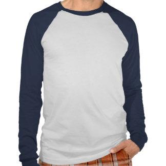 Manga larga del lago moose camiseta