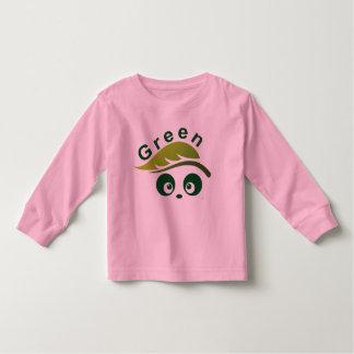 Manga larga del niño de Panda® del amor Camiseta De Manga Larga De Niño