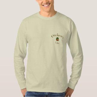 Manga larga T de la sidra de Dicken Camiseta