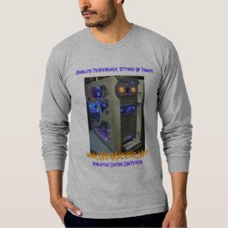 ¡Manga larga T de S de los HOMBRES de XCore4~ '!!! Camiseta