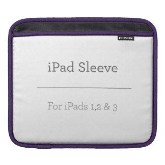 Manga personalizada del iPad Funda Para iPads