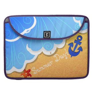 Mangas de MacBook Pro de la playa del verano Fundas Para Macbooks
