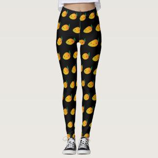 Mango lindo de Kawaii Leggings