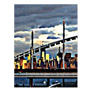 Manhattan de la materia de Staten Island Postal