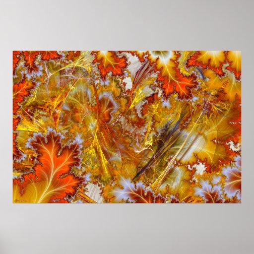 Manía del otoño posters