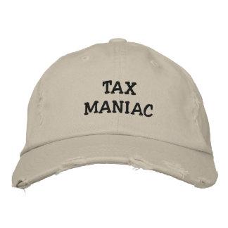 Maniaco del impuesto - gorra del apodo del impuest gorras de béisbol bordadas