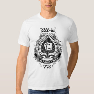 Maniaco del póker camisas