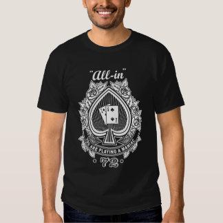 Maniaco del póker camisetas