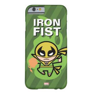 Manipulación de la ji del Iron Fist de Kawaii Funda Barely There iPhone 6