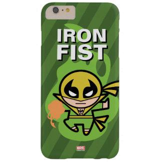 Manipulación de la ji del Iron Fist de Kawaii Funda Barely There iPhone 6 Plus