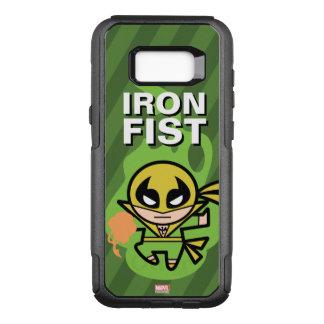 Manipulación de la ji del Iron Fist de Kawaii Funda Commuter De OtterBox Para Samsung Galaxy S8+