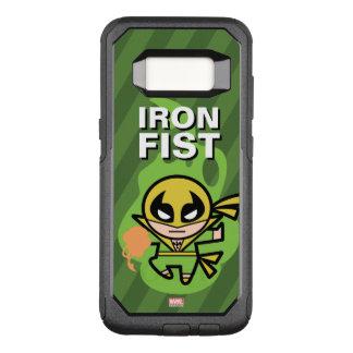Manipulación de la ji del Iron Fist de Kawaii Funda Commuter De OtterBox Para Samsung Galaxy S8
