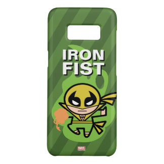 Manipulación de la ji del Iron Fist de Kawaii Funda De Case-Mate Para Samsung Galaxy S8