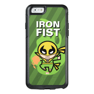 Manipulación de la ji del Iron Fist de Kawaii Funda Otterbox Para iPhone 6/6s