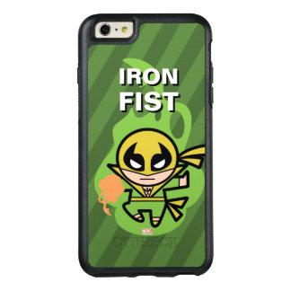 Manipulación de la ji del Iron Fist de Kawaii Funda Otterbox Para iPhone 6/6s Plus