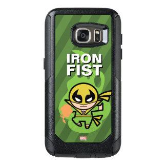 Manipulación de la ji del Iron Fist de Kawaii Funda Otterbox Para Samsung Galaxy S7