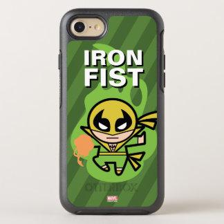 Manipulación de la ji del Iron Fist de Kawaii Funda OtterBox Symmetry Para iPhone 8/7