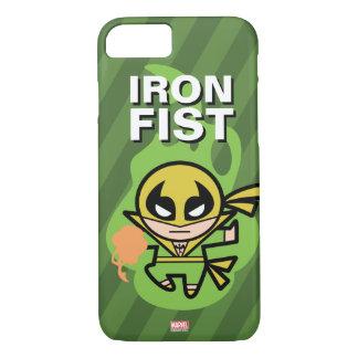 Manipulación de la ji del Iron Fist de Kawaii Funda Para iPhone 8/7