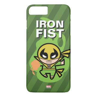 Manipulación de la ji del Iron Fist de Kawaii Funda Para iPhone 8 Plus/7 Plus