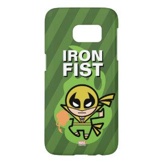 Manipulación de la ji del Iron Fist de Kawaii Funda Samsung Galaxy S7