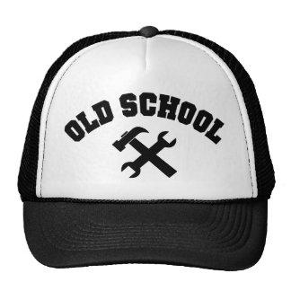 Manitas de la escuela vieja - la reparación casera gorros bordados