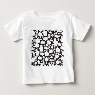 Mano background2 camiseta de bebé