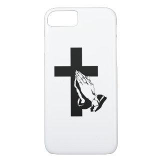 Mano de rogación Phonecase Funda iPhone 7