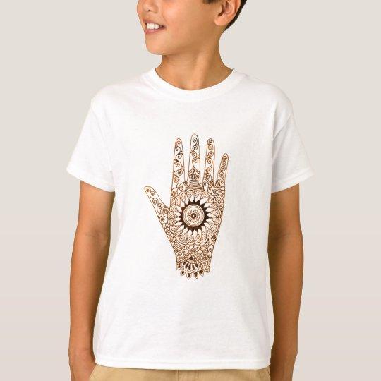 Mano/Hamsa de la alheña Camiseta