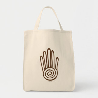 Mano maya - bolso de Brown (Digital) Bolsa
