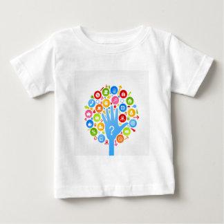 Mano office2 camiseta de bebé