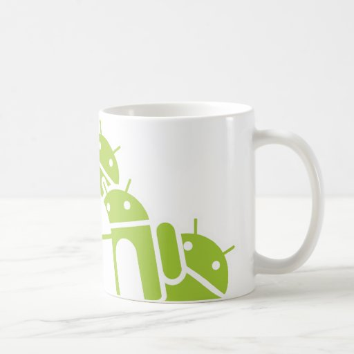 Manojos de Droids Tazas De Café
