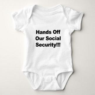 ¡Manos de nuestra Seguridad Social! Body Para Bebé