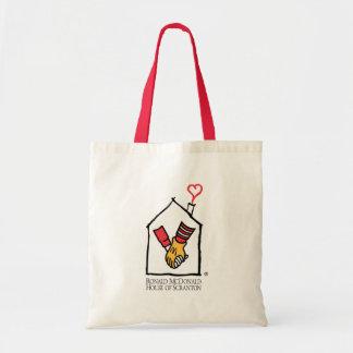Manos de Ronald McDonald Bolsa Tela Barata