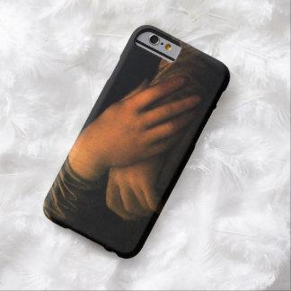 Manos del caso del iPhone 6 de Mona Lisa Funda Barely There iPhone 6
