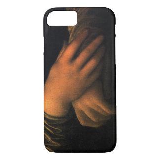 Manos del caso del iPhone 7 de Mona Lisa Funda iPhone 7