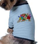 Manos Painty Camiseta De Mascota
